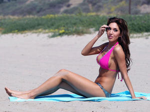 Farrah Abraham - At the Beach LA