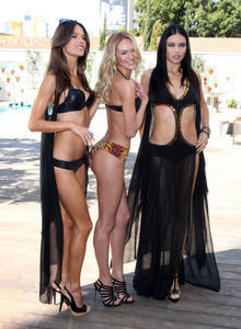 th 153534570 download 28 122 1094lo Adriana Lima, Alessandra Ambrosio & Candice Swanepoel @ VS Angels swimwear launch 2011 high resolution candids