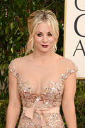 Kaley Cuoco - 70th Annual Golden Globe Awards in Beverly Hills 01/13/12