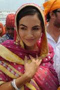 Camilla Belle @ Golden Temple in Amritsar, September 18, 2011