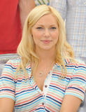 Laura Prepon at the October Road photocall during the 2008 Monte Carlo Television Festival