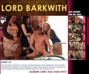 cfnmtv: Lord Barkwith (Part 1-8)