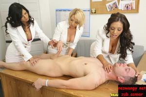 Three ladies cock