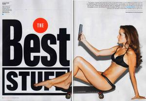Candace Bailey - Men's Fitness December 2012 - Bra & Panties